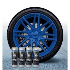 Pack 4 Aérosol Bleu Mat FullDip®