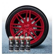 Pack 4 Aérosol Rouge Carmin FullDip®