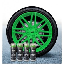 Pack 4 Aérosol Vert Lime FullDip®