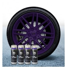 Pack 4 Aérosol Violet Mat FullDip®