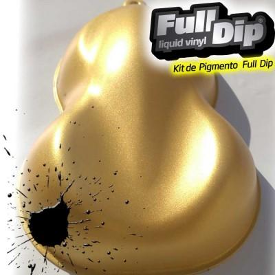Pigments Gold Solar Metallic Nacré Full dip