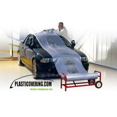 Rouleau film plastique masquage 4m X 300M