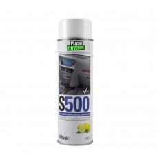 Spray nettoyant pour tableau de bord S500 citron (sans silicone)