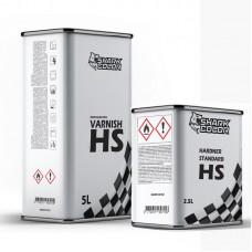 Pack vernis HS ANTI-RAYURES 7.5L