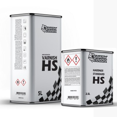 Pack vernis HS ANTI-RAYURES 7.5L